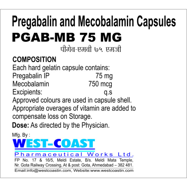 methylcobalamin pregabalin tablets