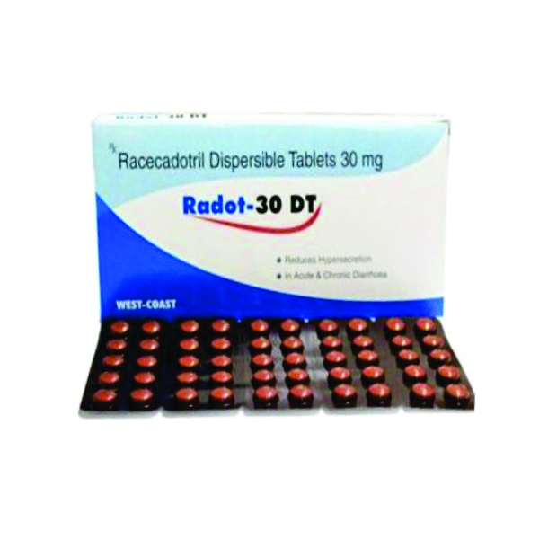 RADOT 100DT/30DT/10DT(RACECADOTRIL DISPERSIBLE TABLETS  100MG/30MG/10MG)