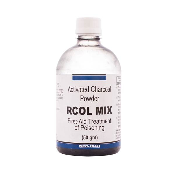 R COL MIX POWDER ( Activated Charcol powder)
