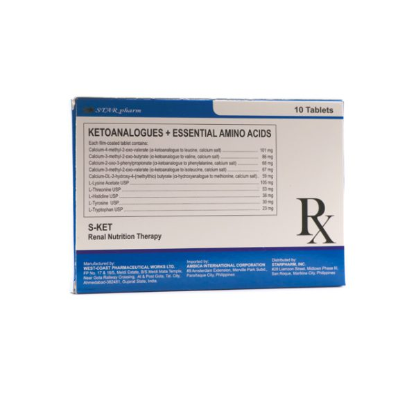 S-KET RENAL NUTRITION THERAPY