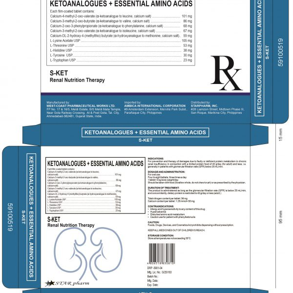 S-KET RENAL NUTRITION THERAPY BOX