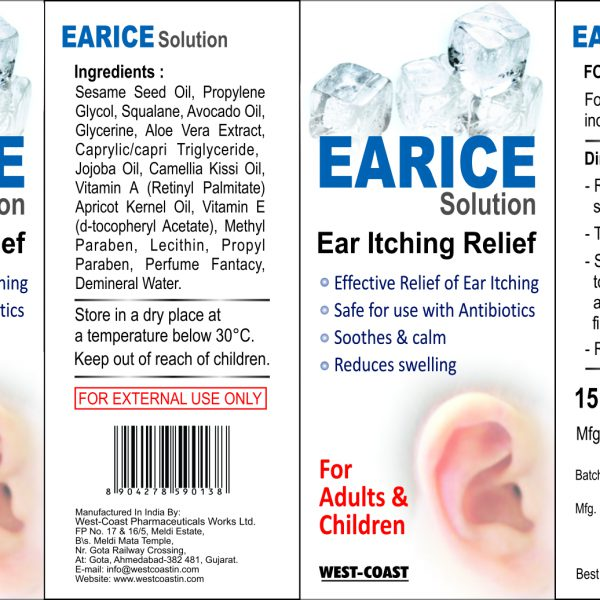 earice solution