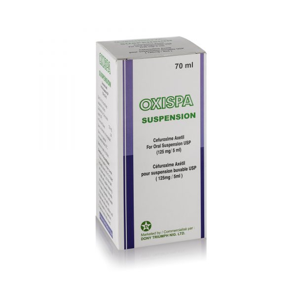 Cefuroxime Axetil oral suspension 125mg5ml