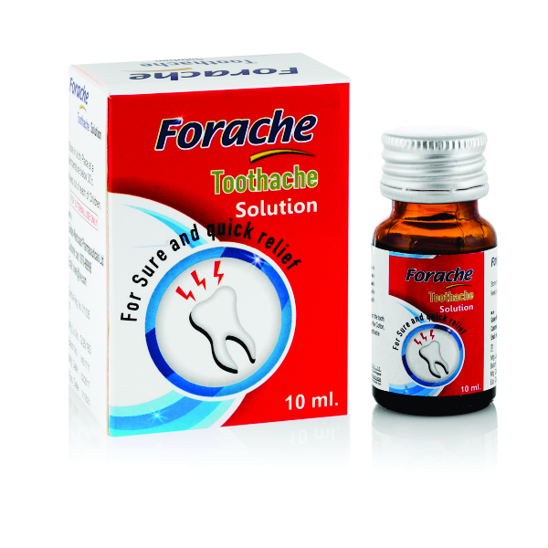 FORACHE TOOTHACHE SOLUTION.