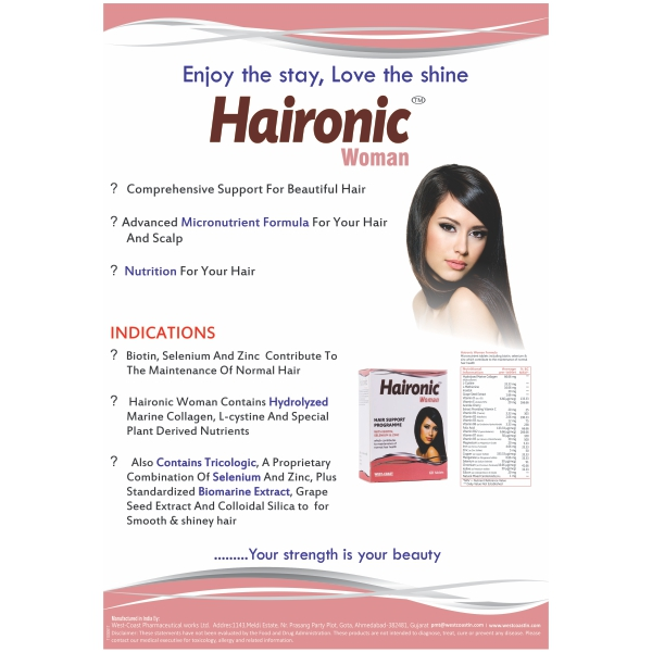 HAIRONIC WOMAN