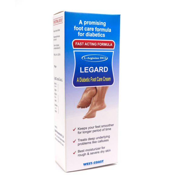 LEGARD A DIABETIC FOOT CARE CREAM