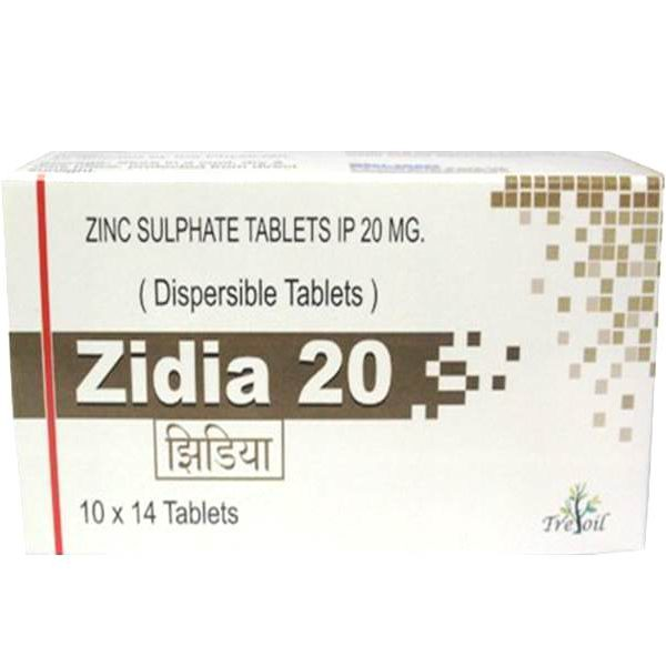 Zinc Sulphate Dispersible Tablets 20 Mg West Coast Pharmaceuticals