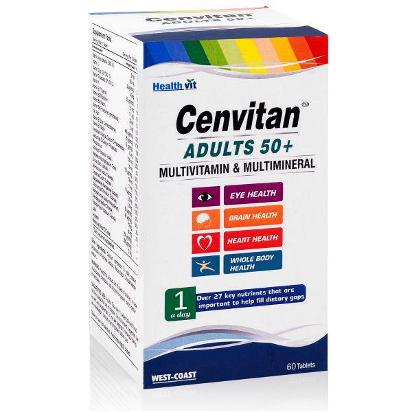 CENVITAN ADULT 50+ PNG