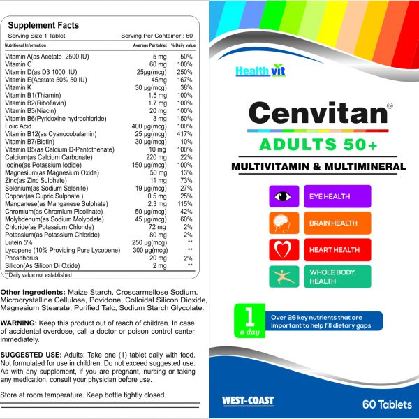 cenvitan adults 50+