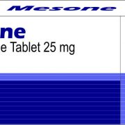 MESONE TABLETS (MESTEROLONE TABLETS 25 MG)