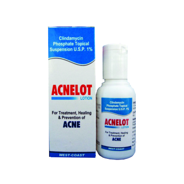 Acnelot lotion bottle
