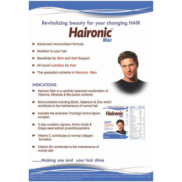 HAIRONIC MAN