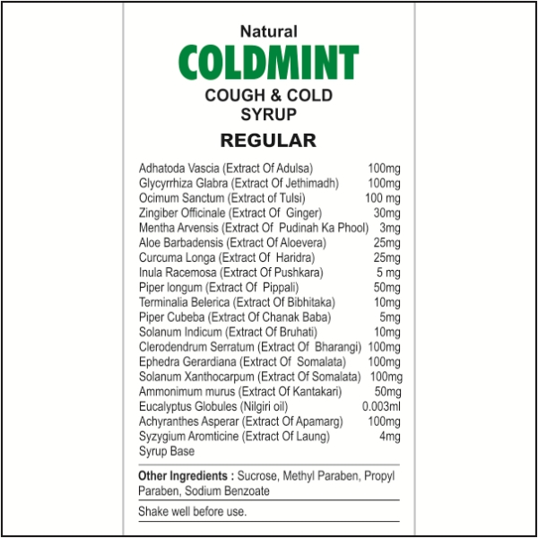 COLDMINT COUGH SYRUP FOR_REG.