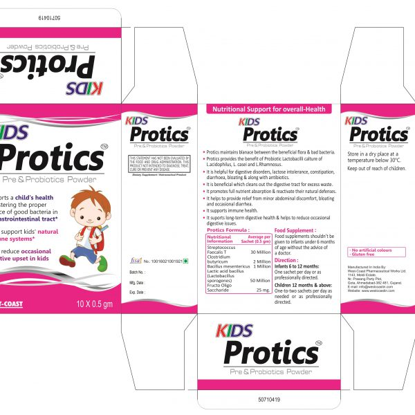 KIDS PROTICS POWDER BOX