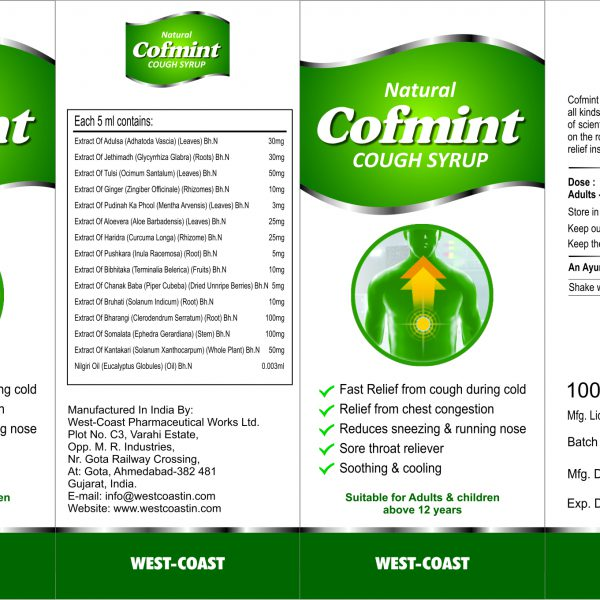 cofmint cough syrup