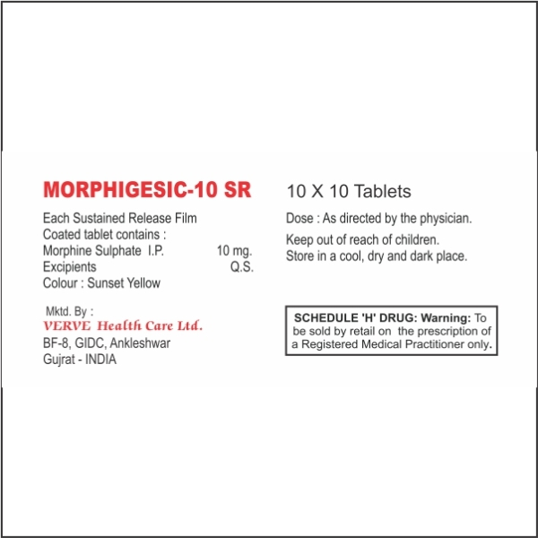 MORPHIGESIC-10 SR GALLARY