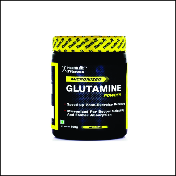 Glutamine Powder - 100 g (Unflavored)