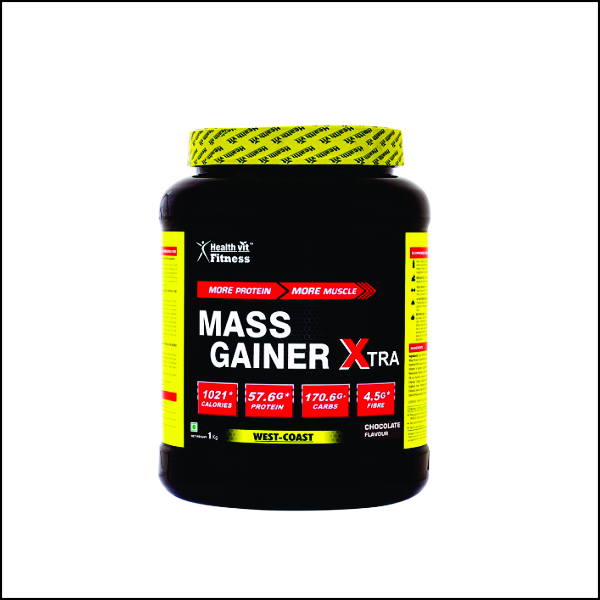 Mass Gainer Xtra Chocolate Flavour 1kg 2.2 lbs