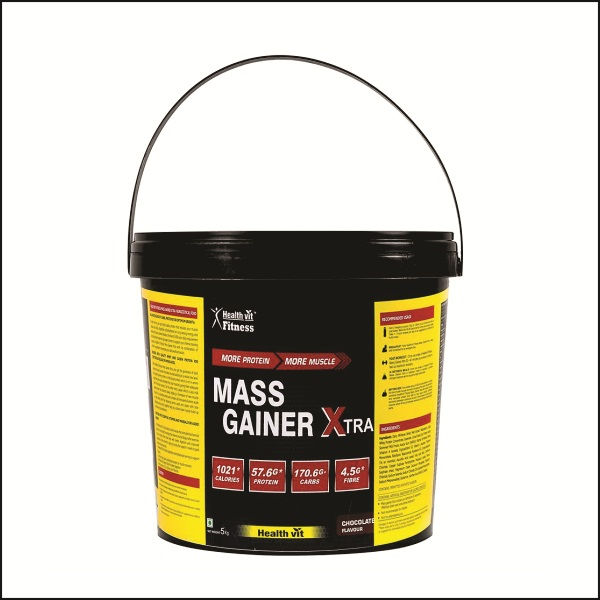 Mass Gainer Xtra Chocolate Flavour 5KG 11.02 lbs Mass Gainers