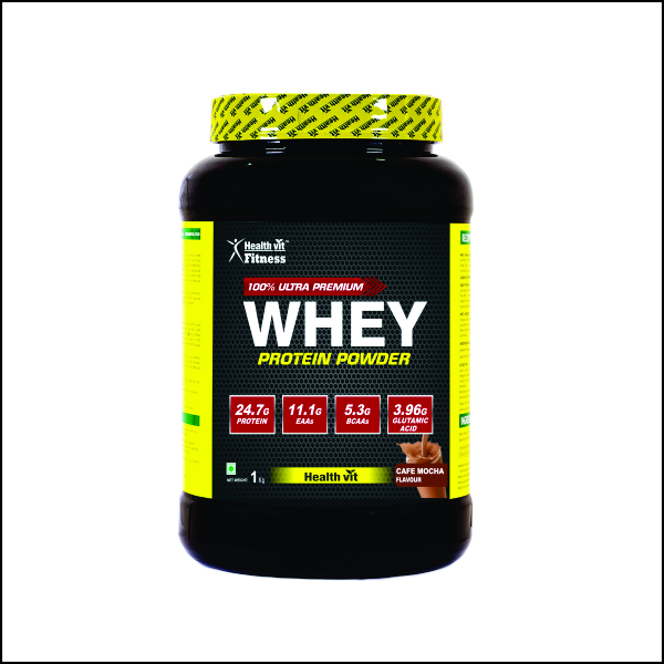 Whey Protein – 1kg2.2lbs (Cafe Mocha Flavour)