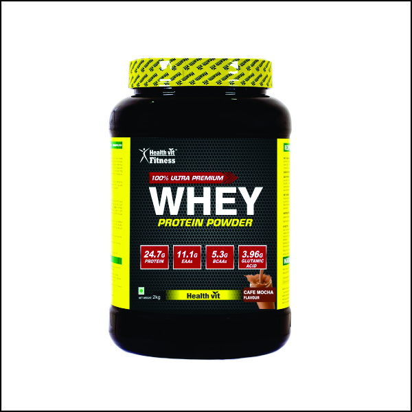 Whey Protein – 2kg4.4lbs (Cafe Mocha Flavour)