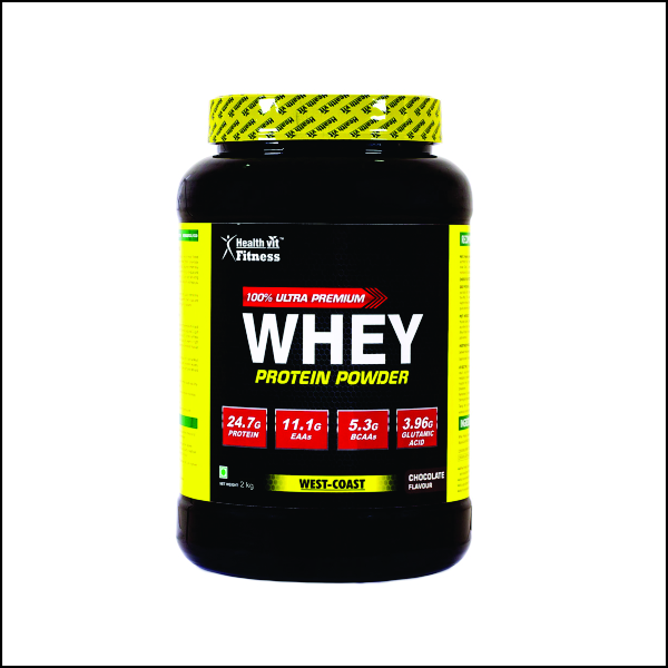Whey Protein – 2kg4.4lbs (Chocolate Flavour)