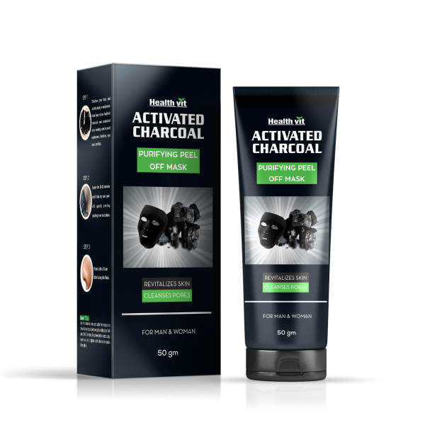 Activated Charcoal Purifying Peel Off Mask 50g