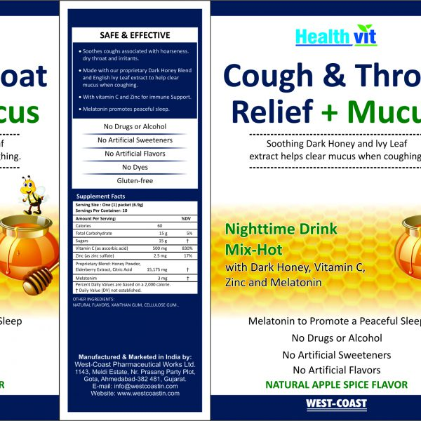 cough & Throat Relief Mucus