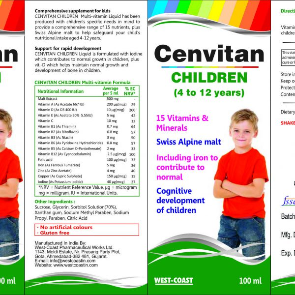 CANVITAN CHILDREN