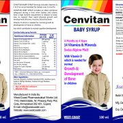 CENVITAN BABY SYRUP VITKID