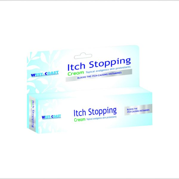 Itch stopping cream