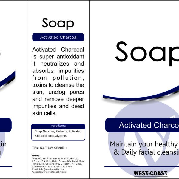 activated chacoal soap