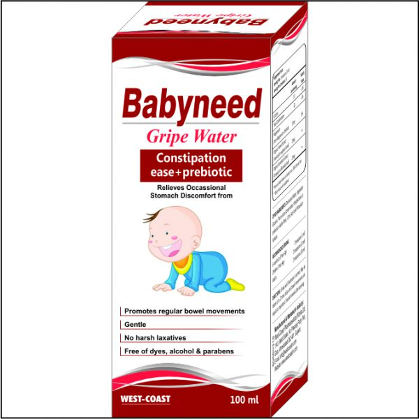 babyneed gripe water box
