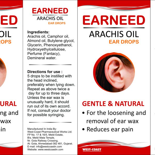 earneed arachis oil