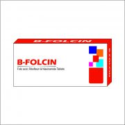 B FOLCIN TABLET 3D