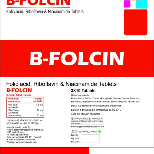 B FOLCIN TABLET