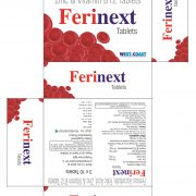 FERINEXT TABLETS BOX