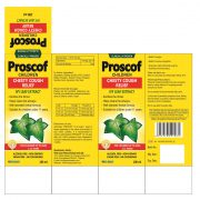 PROSCOF CHILDREN CHESTY COUGH RELIEF (IVY LEAF EXTRACT) BOX