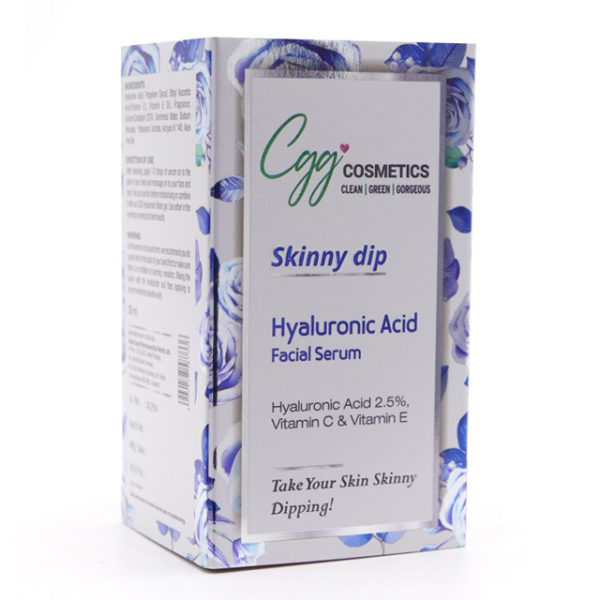 CGG-SKINNY DIP (HYALURONIC ACID FACIAL SERUM)