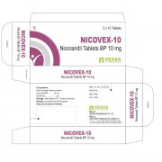NICOVEX-10 TABLET BOX