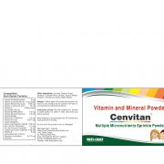 CENVITAN SPRINKLE POWDER BOX